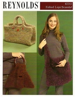 Felted Bags using Alafoss Lopi