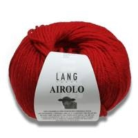 Airolo Pure Wool Aran weight yarn by Lang