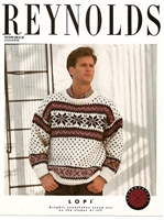 Man's Snowflake Pullover
