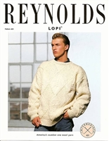 Diamond & Cable Pullover for Men