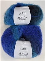 Alpaca Degrade Multi-Color Alpaca Wool Blend by Lang