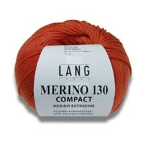 Merino 130 Compact wool yarn from Lang