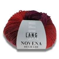 Novena Degrade Merino and Baby Alpaca Yarn by Lang